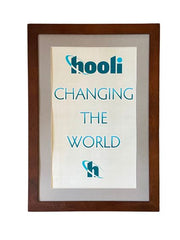 "SILICON VALLEY: Hooli ""Changing the World"" Framed Poster"