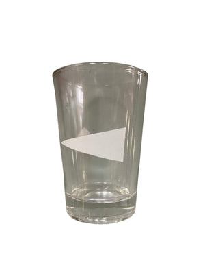 Screenbid Media Company, LLC. - SILICON VALLEY: White Triangle Shot Glass