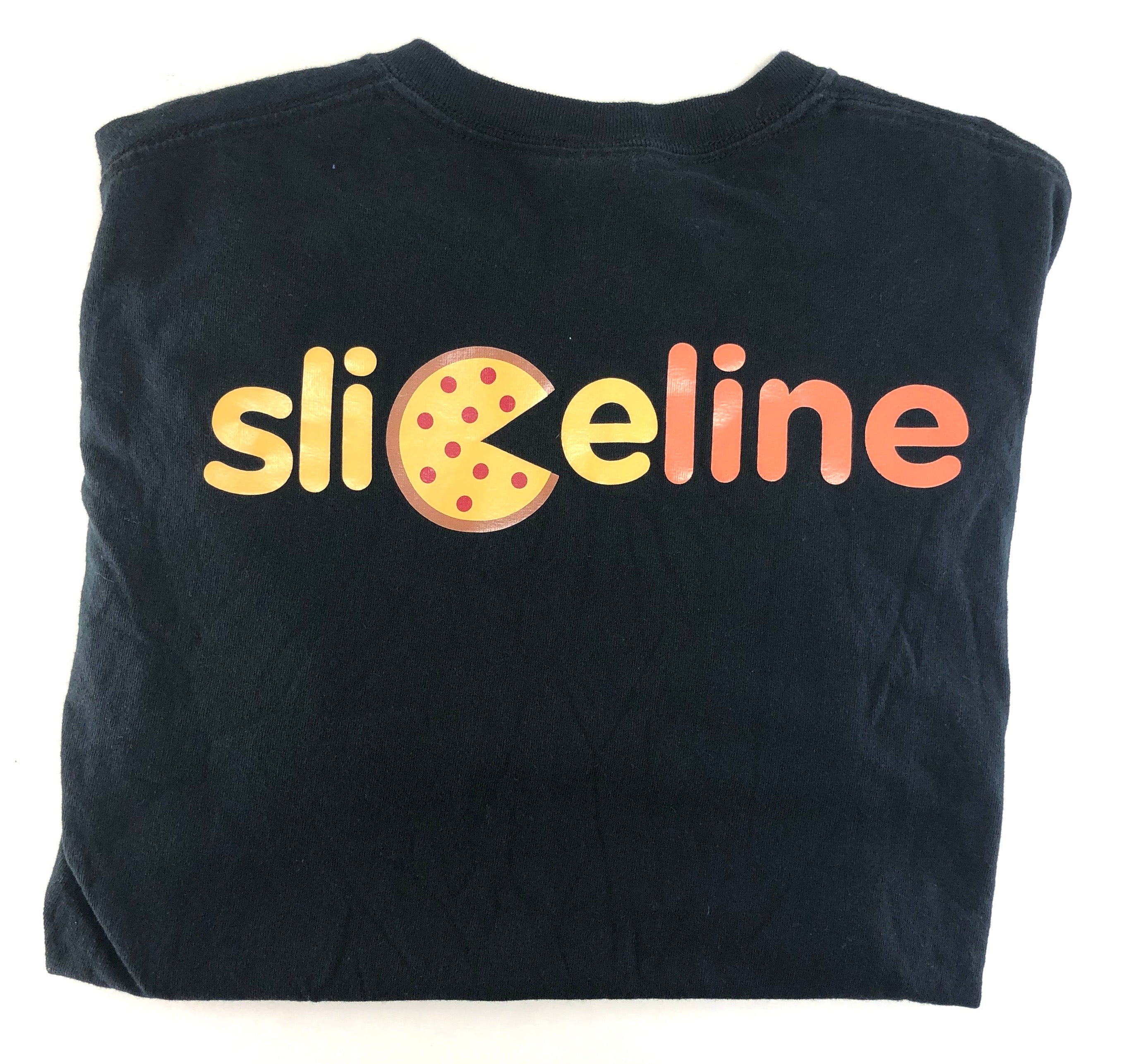 SILICON VALLEY: Sliceline Black T Shirt