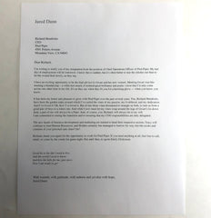 SILICON VALLEY: Jared's Letter of Resignation from Scene 201