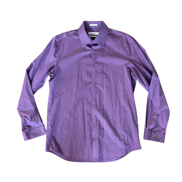 SILICON VALLEY: Russ Hanneman's Purple Calvin Klein Button Down-1