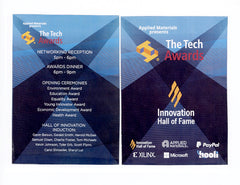 SILICON VALLEY: The Tech Awards Plaque for Gavin Belson
