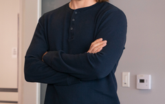 SILICON VALLEY: Gilfoyle's Navy Henley