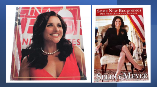 Screenbid Media Company, LLC. - VEEP: Selina's New Begging's Book & 20's in Washington Poster Gift Pack
