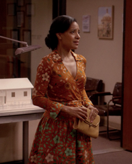 The Get Down - Mrs. Cruz's Hero Diane von Furstenberg Wrap Dress