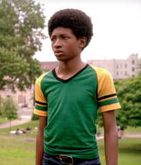 The Get Down - Ra-Ra Kipling's Hero Green and Yellow Shirt