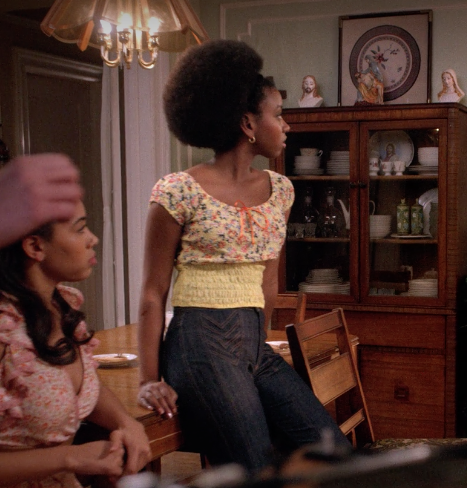 The Get Down - Yolanda's Hero Jimmy McBride High Waisted Flare Jeans-1