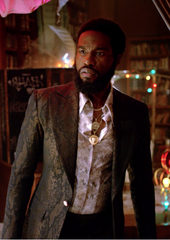 The Get Down - Cadillac's Brown Alligator Print Blazer