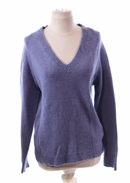 Screenbid Media Company, LLC. - Young David's Blue V-Neck Sweater