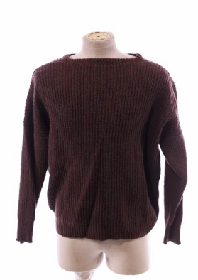 Young Stephan's Brown Pullover Sweater - 1 of 2