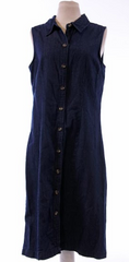 Gone Baby Gone: Button Down Jean Dress.
