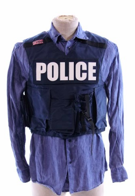 Gone Baby Gone: Remy's Police Raid Shirt & Tactical Vest-2