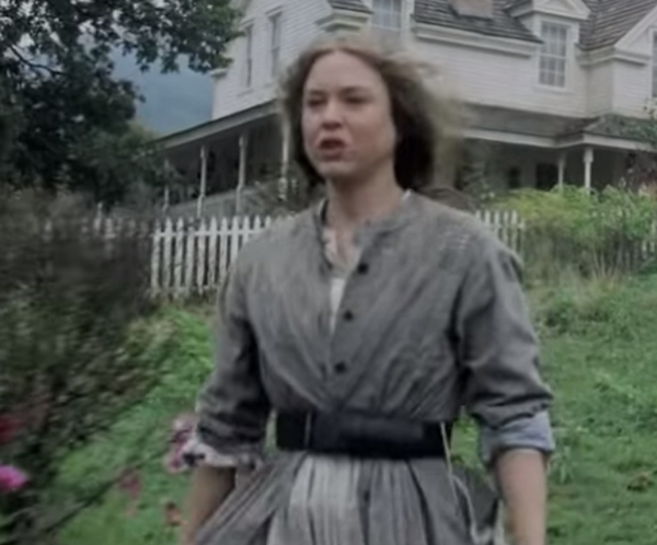 Cold Mountain: Ruby's Floral Dress Outfit-1
