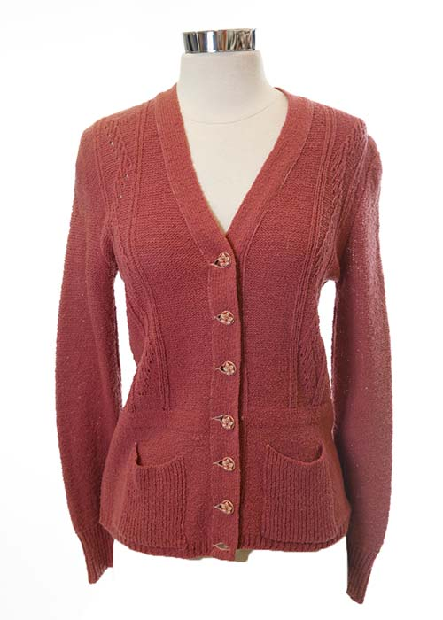 The Cider House Rules: Candy's Mauve Cardigan