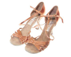 The Get Down - Mylene's Metallic Copper Dance Heels