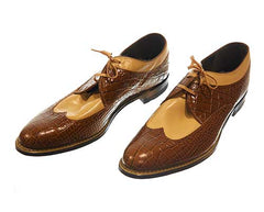 The Get Down Cadillac's Brown Wingtips