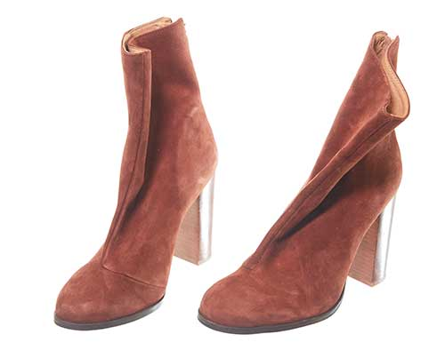 The Get Down - Regina's Brown Suede Boots-1