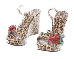 The Get Down Regina's Leopard Dolce & Gabbana Wedges
