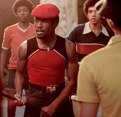 The Get Down - Shaolin Fantastic's Hero Red and Black Mesh Tank Top