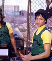 "The Get Down - Silent Carlito's ""Notorious III"" Tank top and Knit Cap"