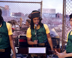 "The Get Down - DJ Big Planet's ""Notorious III"" Tank Top and Knit Cap"