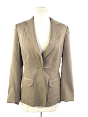 Elie Tahari Light Olive Blazer
