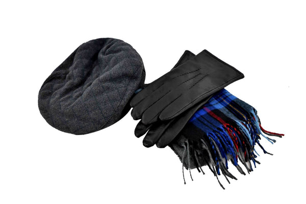 VEEP: Ben's Scarf and Gloves-1
