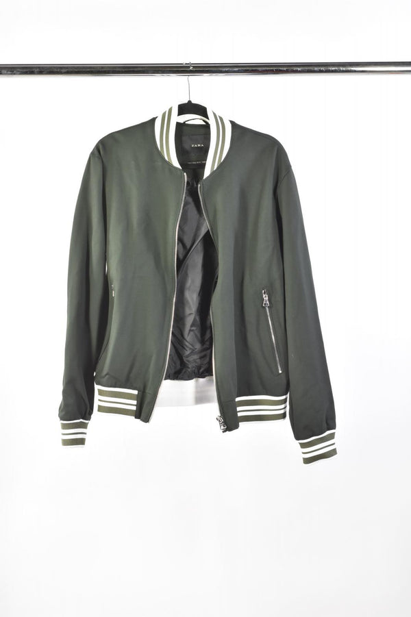 VEEP: Mike's ZARA Green Bomber Jacket-1