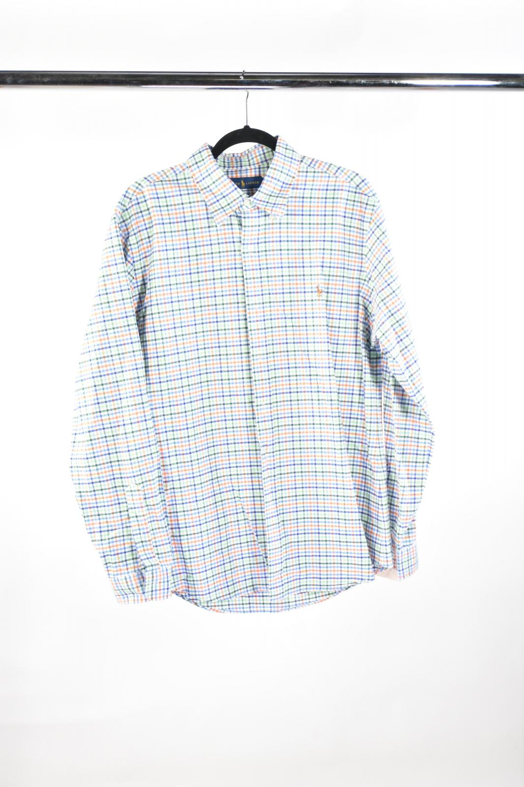 VEEP: RALPH LAUREN Checkered Long Sleeve Shirt