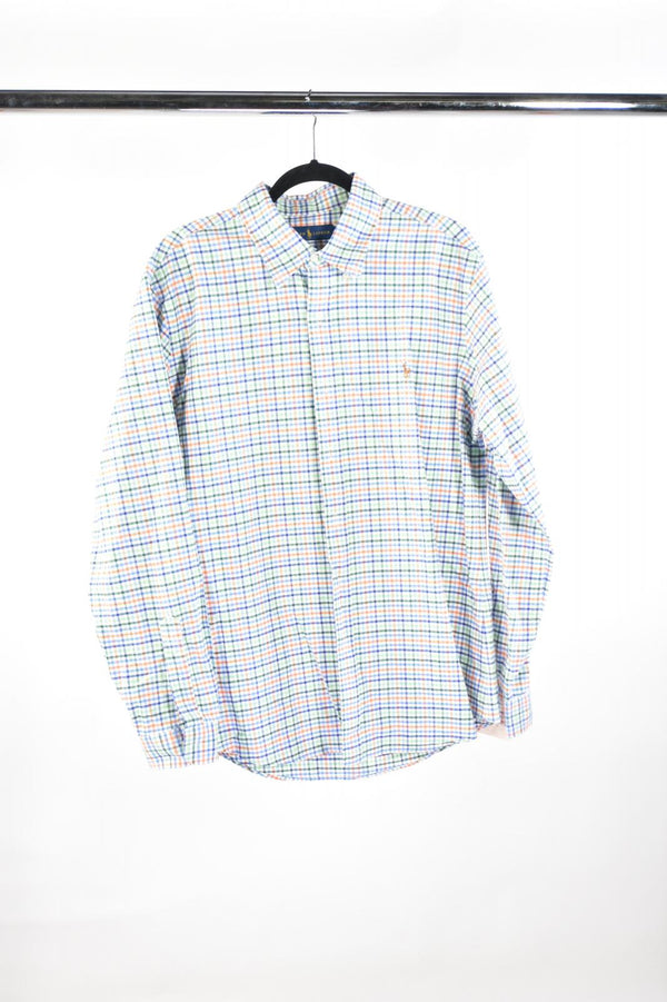 VEEP: RALPH LAUREN Checkered Long Sleeve Shirt-1