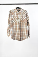 VEEP: FRONTIER Plaid Brown Shirt