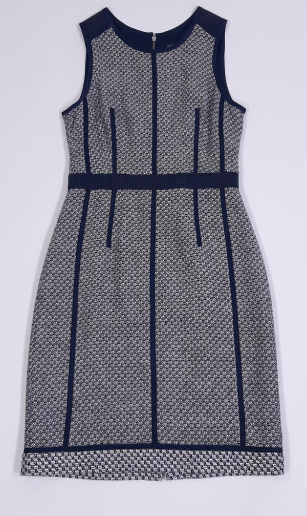 VEEP: Amy's Club Monaco Detailed Sheath Dress-1