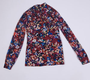 Screenbid Media Company, LLC. - Karen Millen Multi Floral Print Blouse