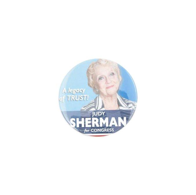 VEEP: Judy Sherman A Legacy of Trust Button