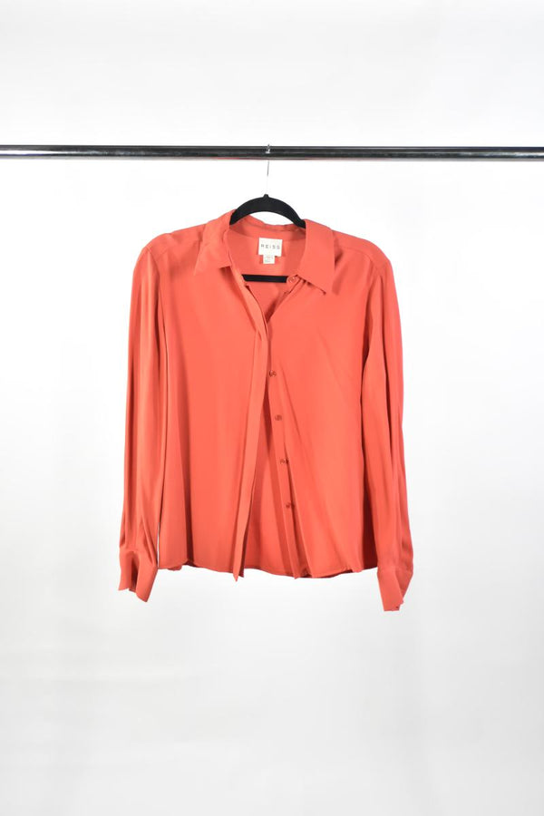 VEEP: Catherine's REISS Red Blouse-1