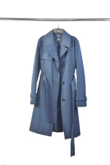 COLLECTION ELLEN TRACY Dark Blue Trench Coat