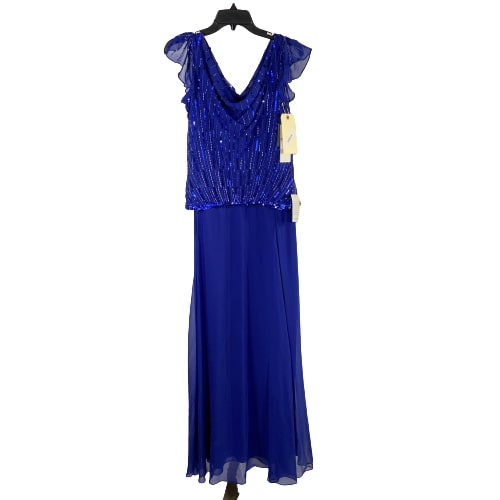 VEEP:  Selina's Blue JKARA Dress-1