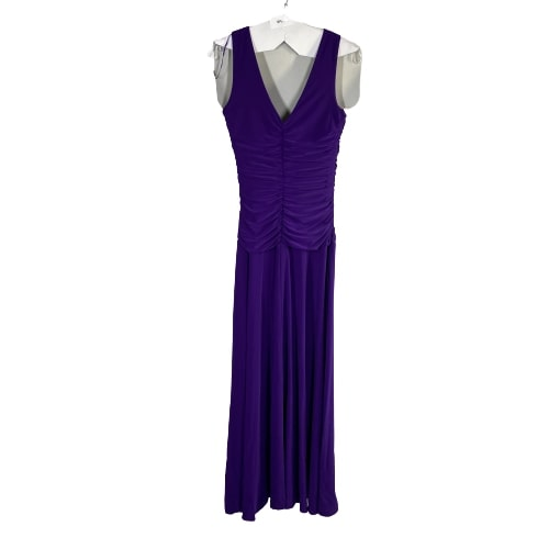 VEEP:  Selina's Full Length Purple Dress-1