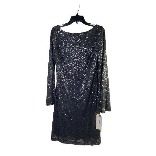 VEEP:  Amy's Silver Sequence Dress-1