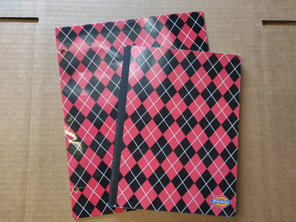 The House Bunny: Mona's Plaid Folder and Notebook-1