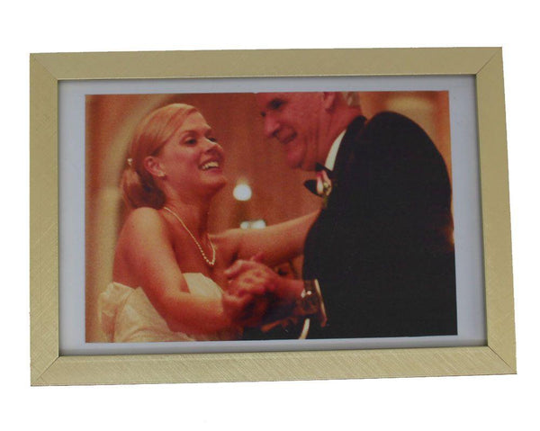 You're The Worst: Becca's Small Golden Wedding Framed Picture-2
