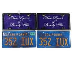You're The Worst: Mack Ryan's Of Beverly Hills License Plates Cover