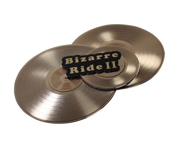 You're The Worst: Bizarre Ride II Gold Vinyl Record-1