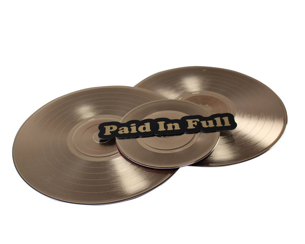 You're The Worst: Paid In Full Gold Vinyl Record-1