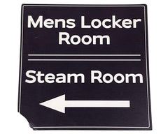You're The Worst: Mens Locker & Steam Room Signs