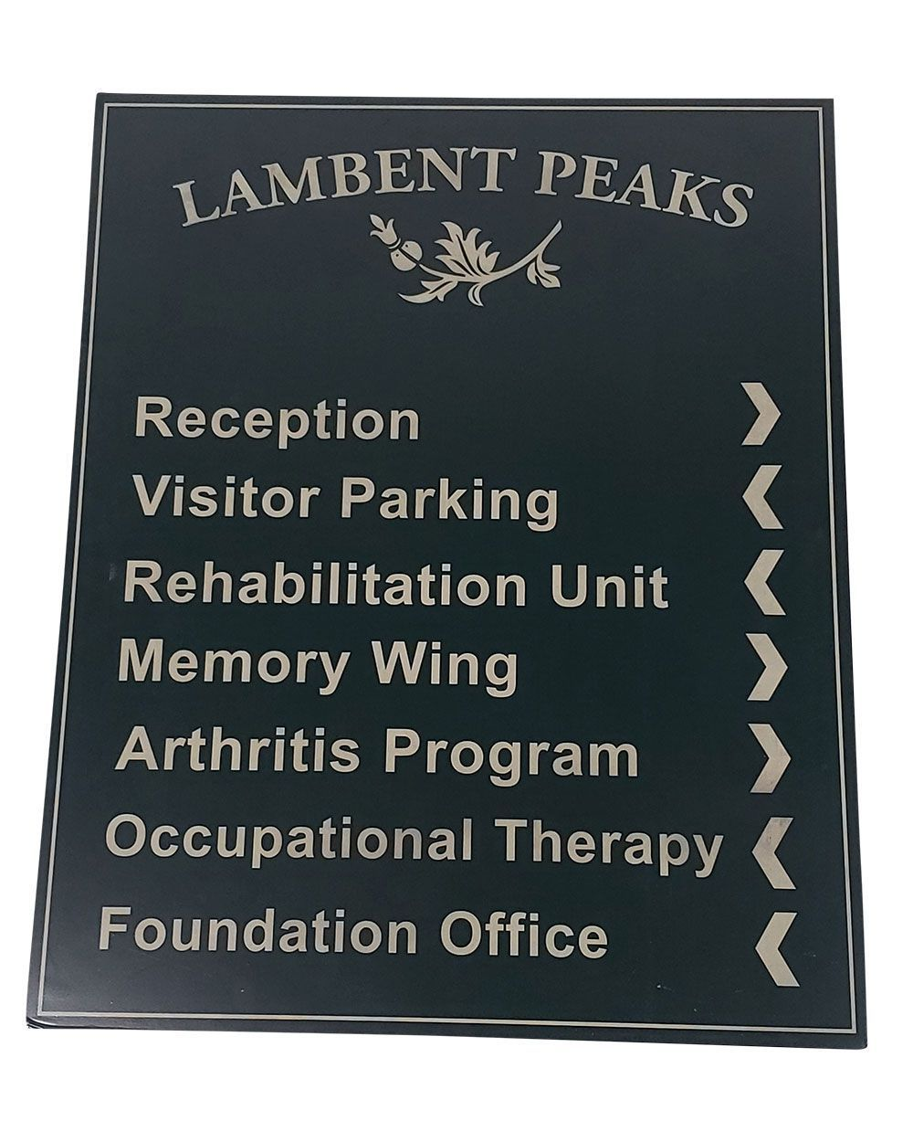 "You're The Worst: ""Lambert Peaks"" Directory Sign"