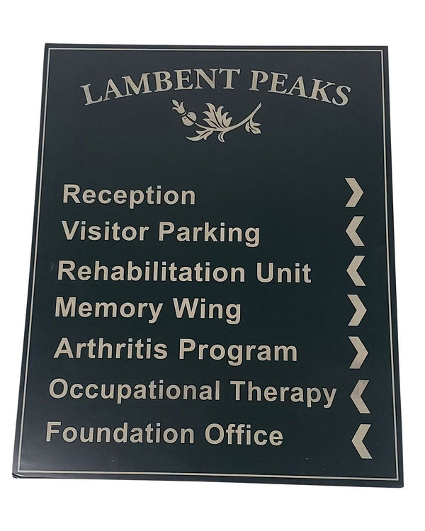 "You're The Worst: ""Lambert Peaks"" Directory Sign-1"
