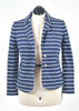 You're The Worst: Blue & White Jacket by Charter Club