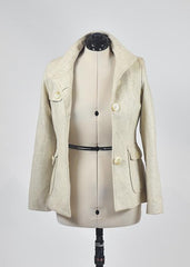 You're The Worst: Beige Coat by Holy Codi Studio