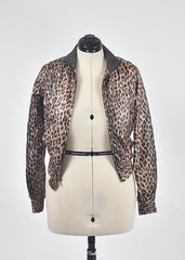You're The Worst: Cheetah Print Jacket by Charlotte Russe